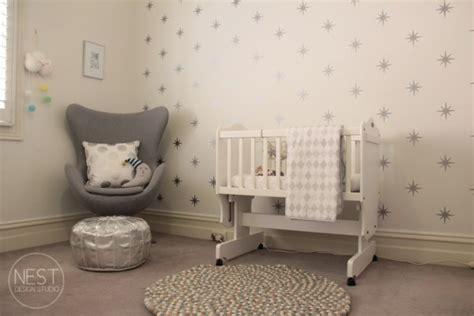 chambre fille etoile decoration chambre bebe fille etoile