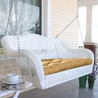 wicker porch swings 18 Modern Outdoor Wicker Furniture Ideas