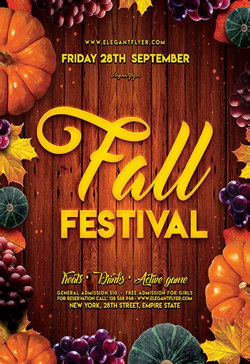 Fall Festival V03  Free Flyer Psd Template  By Elegantflyer. Free Printable Checks Template. Cute Class Schedule Template. Gerber Graduates Sippy Cup. Wedding Table Seating Chart Template. Openoffice Cover Letter Template. Ugly Sweater Contest. Photoshop Flyer Templates. Louis Vuitton Receipt Template