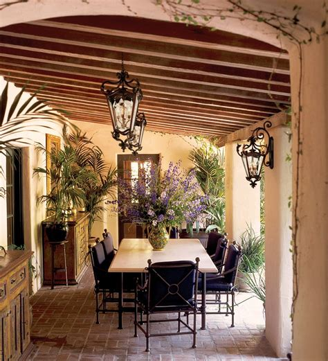 Tuscan Decorating Ideas For Patio by Tuscan Style Patio Decorating Patio Farmhouse With Exposed