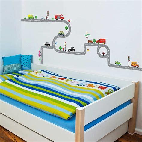 Wandtattoo Kinderzimmer Junge Auto by Wandsticker Wandpuzzle Wandtattoo Autobahn Stra 223 En Autos