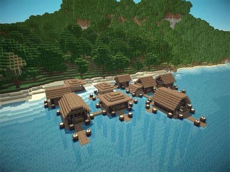 minecraft beach house ideas  pinterest cool