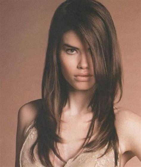 long layered hairstyles fine hair hair pinterest