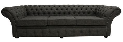 Harris Tweed Settee by Chesterfield Balmoral 4 Seater Sofa Settee Harris Tweed