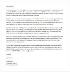 Teacher Assistant Recommendation Letter