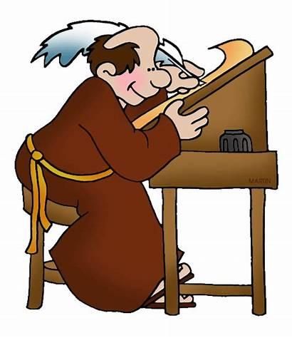 Middle Ages Teachers Lesson Plans Medieval Monk