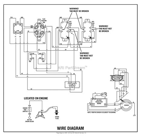 briggs and stratton power products 030475 01 6 000 watt troy bilt parts diagram for wiring