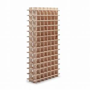 Casier A Bouteille Leroy Merlin : casier 78 emplacements bois brut leroy merlin ~ Mglfilm.com Idées de Décoration
