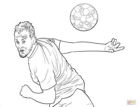 Kleurplaat Barcelona Messi by Fc Barcelona Kleurplaat Messi Coloring Pages Coloring Home