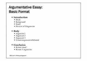 Argumentative Essay Format Sample Supplemental College Essays  Argumentative Essay Structure Sample Template