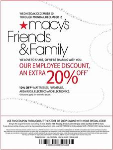 Macys Coupons Printable January 2016 Specialist Of Coupons