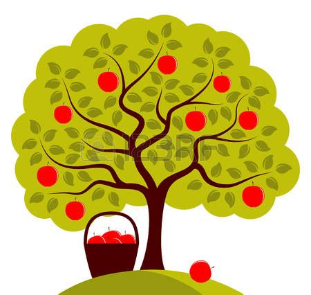 Apple Tree Clipart Apple Trees Clipart Clipground