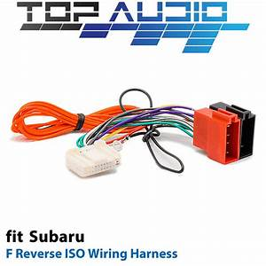 F Reverse Iso Wiring Harness For Subaru Nissan App091f Adaptor Cable Lead Loom