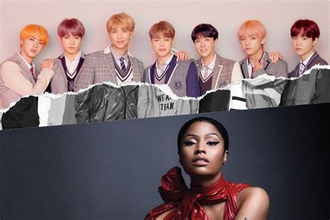 "Bts Reveals Nicki Minaj Will Feature On Track In ""love"
