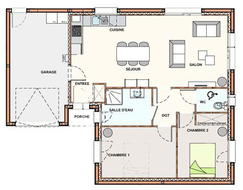 plan cuisine ouverte sur salon plan cuisine ouverte sur salon 4 construction maison la