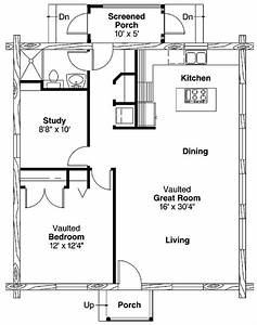 simple one bedroom house plans home plans homepw00769 With simple 1 bedroom floor plans
