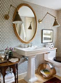 wallpapered bathrooms ideas how to add elegance to a bathroom with wallpapers