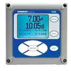 model 1056 intelligent four wire analyzer from rosemount