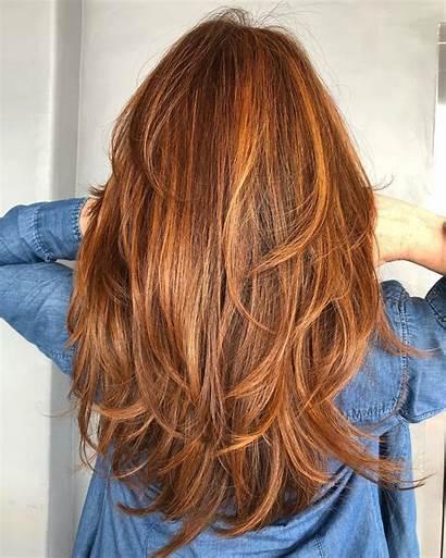Layered Hair Haircuts Hairstyles Layers Trendy Cut