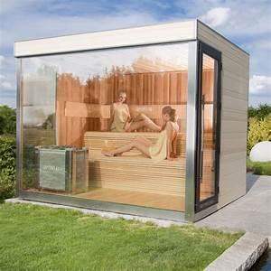 Sauna Für Garten : optirelax vip gartensauna deluxe optirelax ~ Markanthonyermac.com Haus und Dekorationen