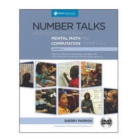 number talks whole number computation grades k 5 math