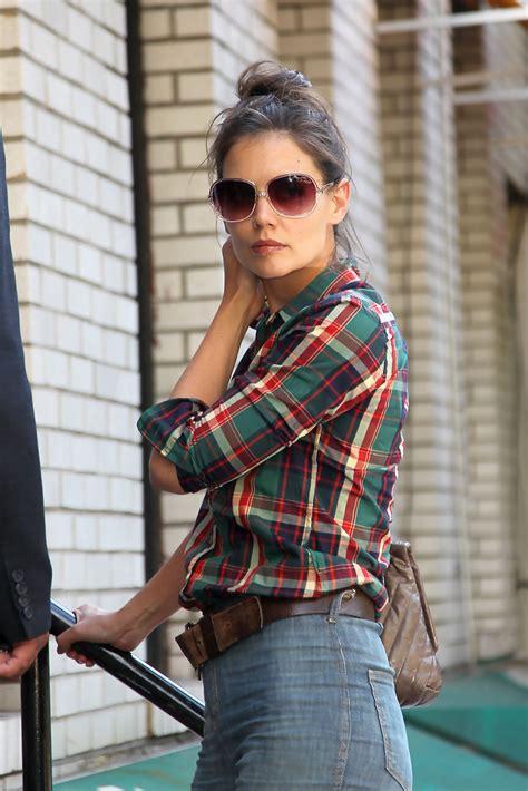 katie holmes oversized sunglasses katie holmes