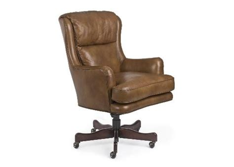 decker leather swivel tilt chair by randall allan