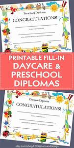 Sample Of Certificate Of Achievement Diploma Certificate For Preschool Or Daycare Printable