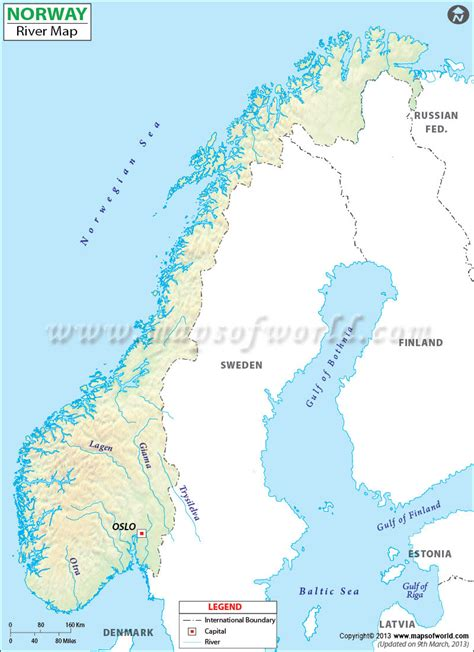 List Of Rivers Of Norway