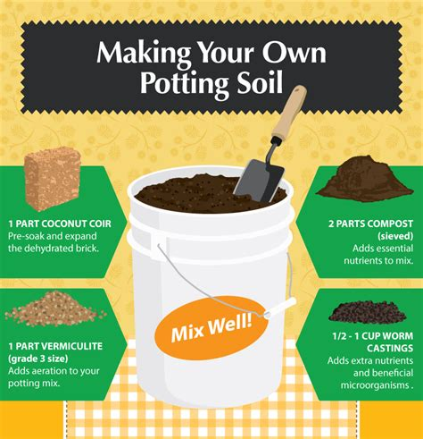 The Benefits Of Making Your Own Potting Soil Fixcom