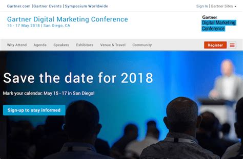 digital marketing conference the 50 best digital marketing conferences to attend 2018