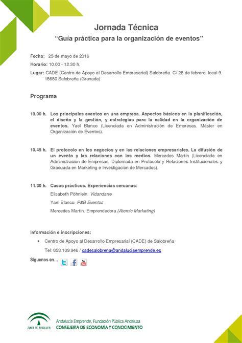 guia practica  la organizacion de eventos andalucia emprende fundacion publica andaluza