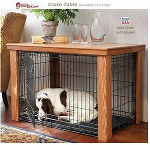 1000 ideas about dog crate table on pinterest dog With turn dog crate into table