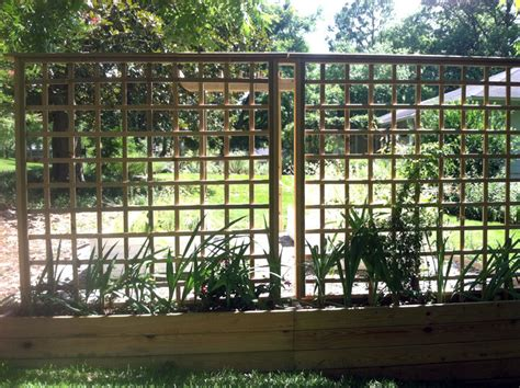 How To Build A Lattice How To Build A Trellis Wall