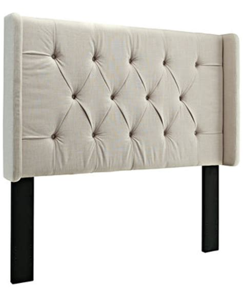 estelle full queen headboard direct ship furniture macy s