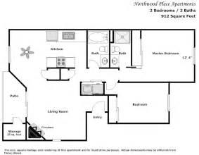 2 bedroom floor plan northwood place apartments modesto