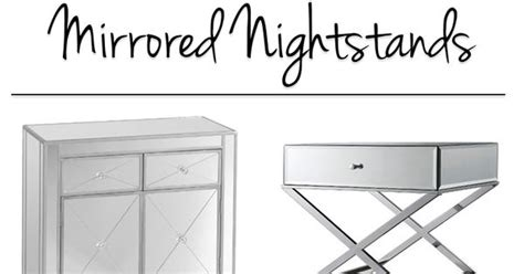 Mirrored Nightstands Cheap by 10 Options For Cheap Mirrored Nightstands Mirrored
