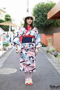 Harajuku, Girl, In, Tokyo, Tower