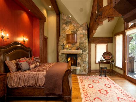 romantic luxury master bedroom luxury master bedroom  fireplace  bedroom log homes
