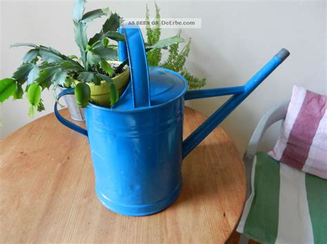 Gartendeko Blau by Alte Shabby Zink Gie 223 Kanne Gartendeko Kanne Blau Vintage