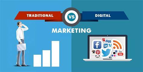 Web Marketing - 11 benefits of digital marketing traditional