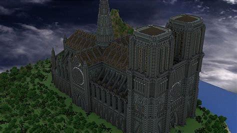 wallburst cathedral minecraft build  minecraft building