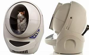 Litiere Qui Se Nettoie Toute Seule : une liti re pour chats qui se nettoie automatiquement ~ Melissatoandfro.com Idées de Décoration