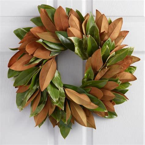 Live Magnolia Wreath   World Market