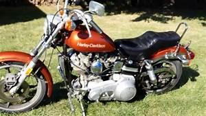 1976 Harley Davidson Fxe 1200 Superglide Shovelhead For