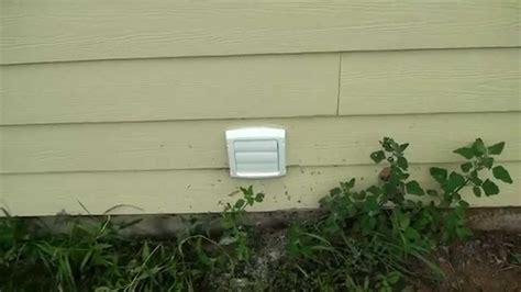 external exhaust fan for bathroom venting a basement bathroom fan outside youtube