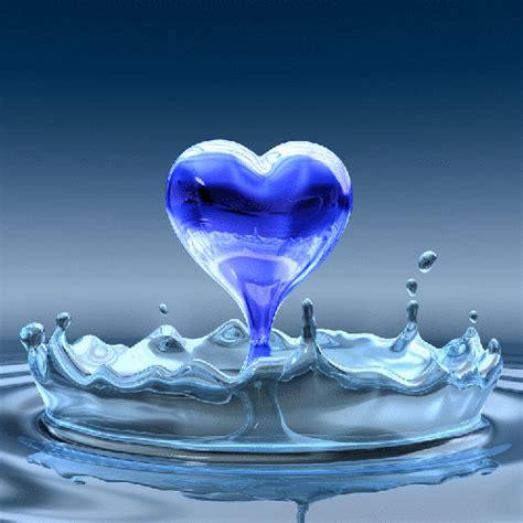 water heart animated hearts fan art  fanpop