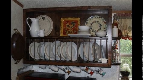 Kitchen Cabinet Design Plate Rack  Youtube