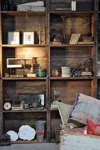 Caisse Bois Deco : meuble en caisse bois 7 ~ Teatrodelosmanantiales.com Idées de Décoration