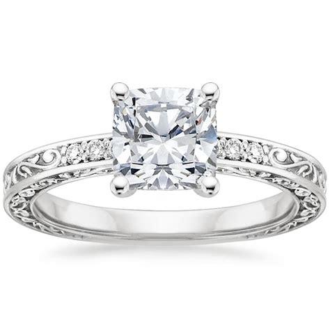6 stunning cushion cut engagement rings brilliant earth